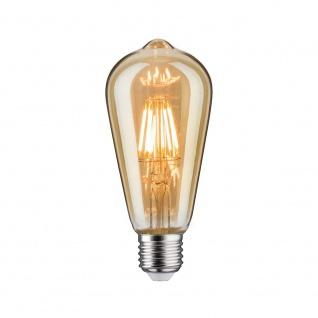 Paulmann LED Vintage Rustika 6W E27 Gold Dimmbar 1700K 28523