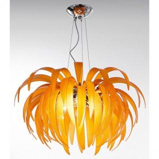 Kolarz Palma Hängeleuchte Orange 4-flammig Hängelampe