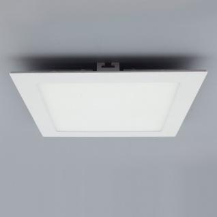Licht-Design 30393 Einbau LED-Panel 1440lm Dimmbar 22x22cm Kalt Weiss