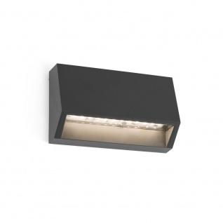 LED Aufbauleuchte MUST-1 3000K IP65 Dunkelgrau