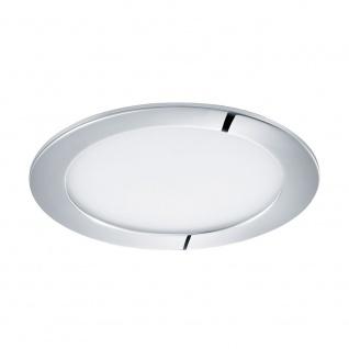 Eglo 96055 Fueva 1 LED Einbauspot Ø 17cm 1200lm Chrom