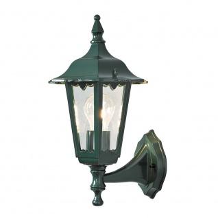 Konstsmide 7232-600 Firenze Aussen-Wandleuchte Grün klares Glas