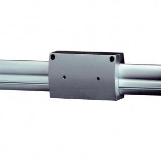 SLV Längsverbinder isoliert für EASYTEC II Silbergrau 184172