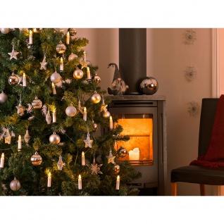 LED Baumkette Topbirnen One String 25 Warmweiße Dioden 24V Innentrafo