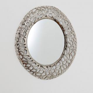 Holländer 344 2901 Spiegel Cavato Oval Aluminium Vernickelt Silber