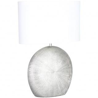Wofi 845601706100 Tischleuchte Legend Silberfarben