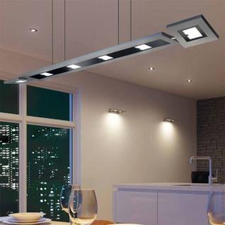 Evotec 11100 Designline LED Pendelleuchte + Fb. 8 x 4 W 2940lm 2700-5700K Alu-Gebürstet