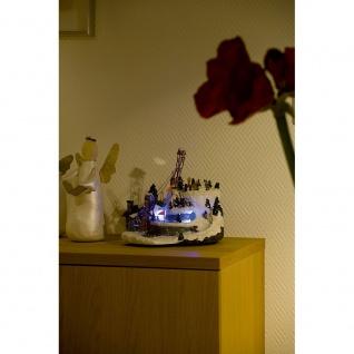LED Szenerie Sessellift mit Animation bunte Dioden 12V Innentrafo - Vorschau 2