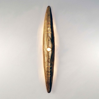 Holländer 300 K 13113 Wandleuchte 5-flammig Daniele Palla Eisen-Glas Gold