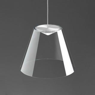 Rotaliana 1DNH1 001 02 ZL0 Dina LED-Pendelleuchte Ø 20cm Hängelampe Transparent