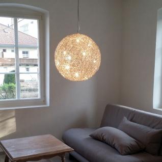 s.LUCE Mesh LED Drahtkugel Ø 50cm Pendellampe Hängeleuchte Kugelleuchte - Vorschau 4