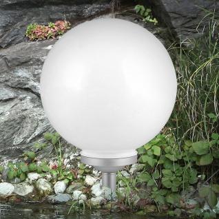 LED Solar Gartenkugel Force Ø 30cm Solar Gartenlampe Gartenleuchte