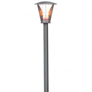 Konstsmide 7344-000 Livorno Energiespar Wegeleuchte Edelstahl opales Acrylglas