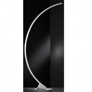 Wofi Luz LED Stehleuchte Chrom Stehlampe