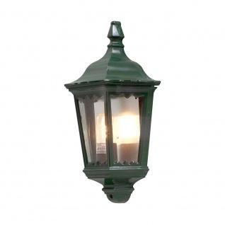 Konstsmide 7229-600 Firenze Aussen-Wandleuchte Grün klares Glas