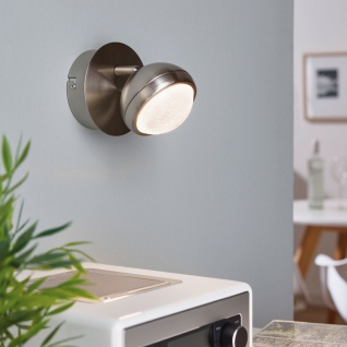 Eglo 94302 Lombes 1 LED Spot 1 x 42 W Stahl Alu Nickel-Matt Kunststoff klar