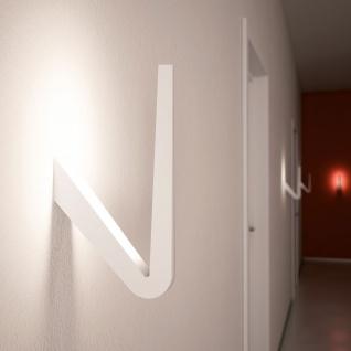 Rotaliana 1TKW0 000 63 ZL0 Tick LED-Wandleuchte 29cm Weiß