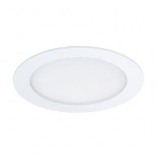 Eglo 96166 Fueva 1 LED Einbauleuchte Ø 17cm 1350lm Weiß