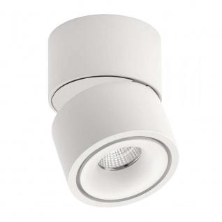 Licht-Trend LED-Strahler Simple Mini Weiß, Schwarz + weisse Abdeckung