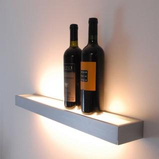 Cusa LED-Lichtboard 70cm Wandleuchte Up&Down Alu-gebürstet