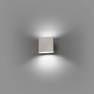 LED Außenwandleuchte KAULA 3000K IP44 Edelstahl