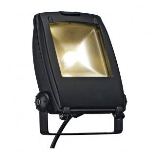 SLV LED Flood Light schwarz matt 30W Warmweiß 120° 231162