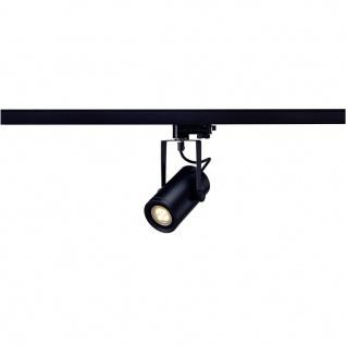 SLV 153920 EuroSpot Integrated LED 36° inkl. 3P.-Adapter 13W 2700K Schwarz