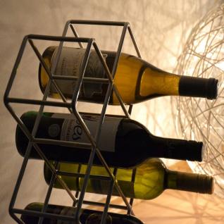 s.HOME Rak Design Weinregal Alu-Matt Flaschenregal Weinhalter Wine Rack - Vorschau 4