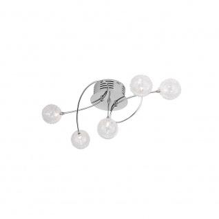 LeuchtenDirekt 50183-17 Bubblz Deckenleuchte Chrom G4