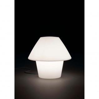 Außen-Tischlampe VERSUS-E IP44 Weiß