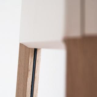 Licht-Trend La3b 50 Tischleuchte mit Holzfuß aus Eiche Weiss Dreibeinleuchte - Vorschau 4