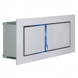 SLV Bedside Links Wandleuchte silbergrau 3W LED 3000K mit blauem Orientierungslicht 146242 - Vorschau 3
