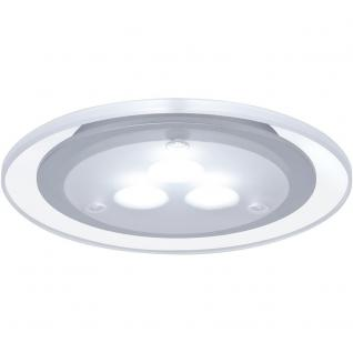Paulmann Möbel EBL Set Deco LED 3x3W 9VA 230V/350mA 100mm Chrom matt/Acryl/ Metall /