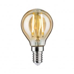 Paulmann LED Vintage Tropfen 2W E14 Gold 1700K 28525