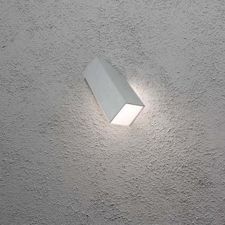 Konstsmide 7933-310 Imola LED Aussen-Wandleuchte Style Design Grau opales Acrylglas