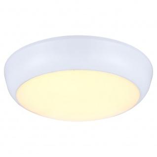 Globo 32116 Aussenleuchte Metall Weiß LED