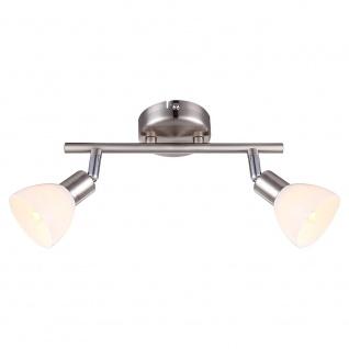 Globo 56042-2 Avalanche Strahler Nickel-Matt Chrom 2xG9 LED