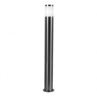 Moita Pollerleuchte Big 80cm Edelstahl Aussen-Standleuchte Pollerlampe