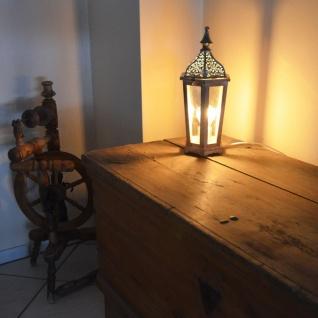 Licht-Trend Hollow Retro Tischleuche Tischlampe Deko-Laterne Vintage Leuchte