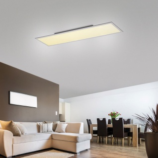 Licht-Trend Q-Flat 120 x 30cm LED Deckenleuchte 4000K Weiß LED Deckenlampe