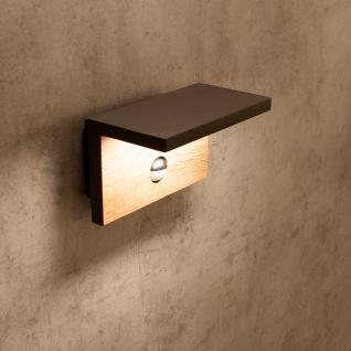 Mantra Ruka Sensor Außen-LED-Wandlampe Dunkelgrau