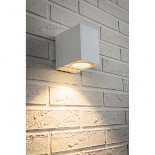 Paulmann Special ABL Set IP44 360° Cube Flame LED 1x7W Weiß-Matt Alu 93782
