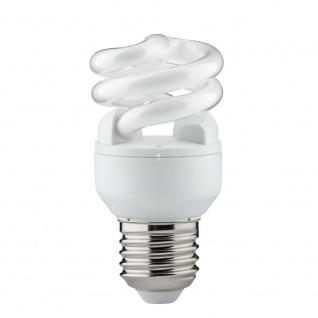 Paulmann Energiesparlampe Spirale 7W E27 Warmweiß 88013