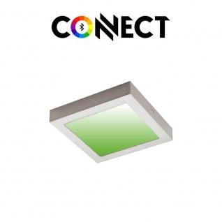 Connect LED Aufbaulampe 22, 5x22, 5cm 2000lm RGB+CCT