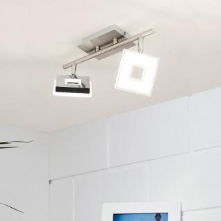 Licht-Trend Sempre Cube LED 2er-Deckenstrahler Deckenlampe Spots schwenkbar