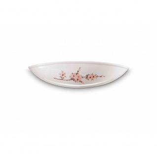 Ferroluce Keramik-Wandleuchte Vintage Weiß