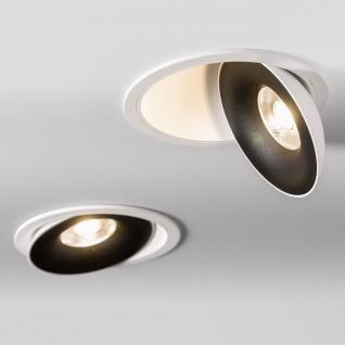Licht-Trend Santa LED Einbauspot schwenkbar & dimmbar 810lm Weiß