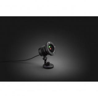LED Laser mit bewegten & funkelnden Punkten Fernbedienung Bewegungssensor Timer für Außen - Vorschau 3