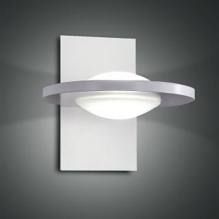 Fabas Luce 3270-20-102 Swan LED Wandleuchte 1400lm Wandlampe Weiß