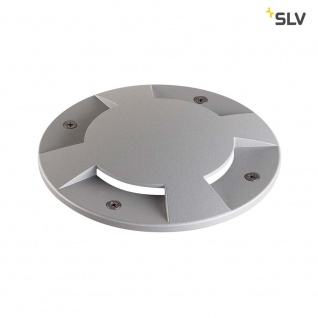 SLV Big Plot Abdeckung 4 Auslässe Silbergrau SLV 1001253